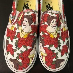 Disney X Vans Bella Rose Sneakers (RARE)